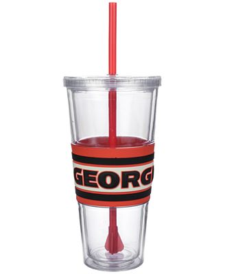 Boelter Brands Georgia Bulldogs 22 oz. Hyped Straw Tumbler