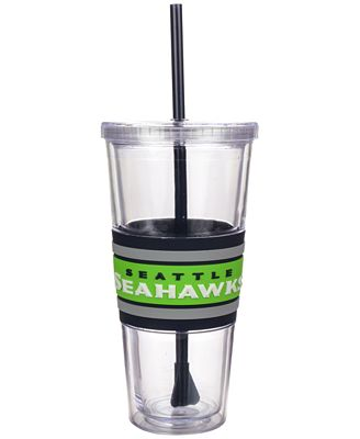 Boelter Brands Seattle Seahawks 22 oz. Hyped Straw Tumbler
