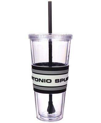 Boelter Brands San Antonio Spurs 22 oz. Hyped Straw Tumbler