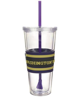 Boelter Brands Washington Huskies 22 oz. Hyped Straw Tumbler