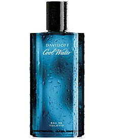 Davidoff Cool Water for Men Eau de Toilette Spray for Him, 4.2 oz.