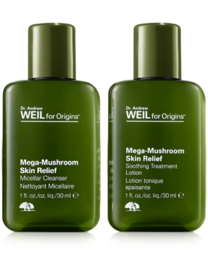 Receive a Free Dr. Weil Mega-Mushroom Duo with $55 Origins P