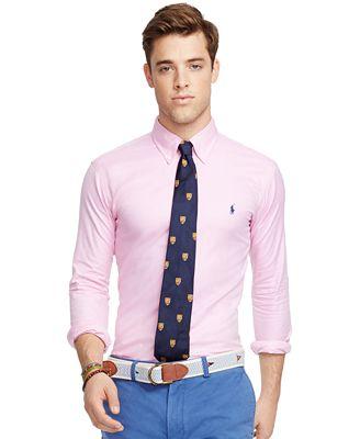 Polo Ralph Lauren Men's Men's Long Sleeve Twill Shirt - Casual ...