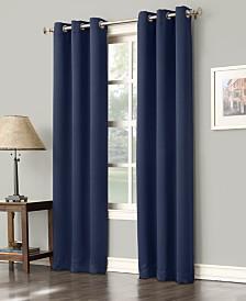 """Sun Zero Preston 40"""" x 108"""" Blackout Grommet Curtain Panel"""