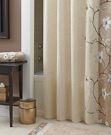 extra brown and red shower curtain. Croscill Magnolia Collection Shower Curtain Curtains  Macy s