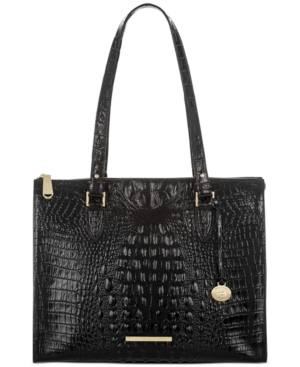 Image of Brahmin Anywhere Tote Melbourne Embossed Leather Tote