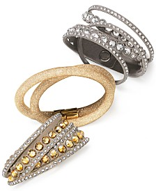 Swarovski Crystal Wrap Bracelets