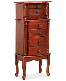 Deena Jewelry Armoire, Quick Ship