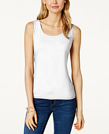 Charter Club Sleeveless Tank Top, Created for Macy's