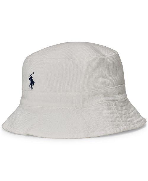 07b2d2d33a1 Polo Ralph Lauren Men s Mesh Bucket Hat   Reviews - Hats