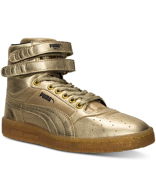 bc33f317773 Puma. Women s Sky II Hi Metallic Casual Sneakers from Finish Line. Be the  first to Write a Review. main image  main image ...