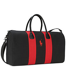 Receive a Complimentary Ralph Lauren Duffel Bag with any 4.2-oz. purchase of Polo Red Eau de Toilette Spray or Polo Red Intense Eau de Parfum Spray