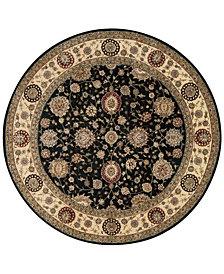 Nourison Wool & Silk 2000 2204 6' Round Rug