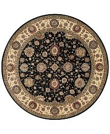 Nourison Wool & Silk 2000 2204 8' Round Rug
