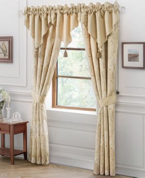 "Waterford Copeland 40"" x 25"" Valance Bedding 2737838"
