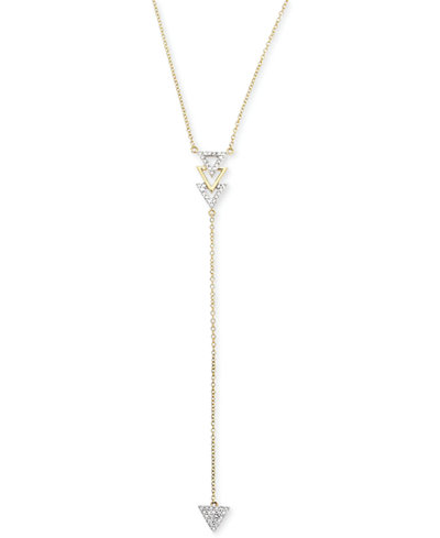 Diamond Arrow Lariat Necklace (1/6 ct. t.w.) in 14k Gold
