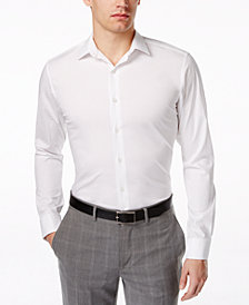 Alfani Spectrum Slim-Fit French Cuff Dress Shirt