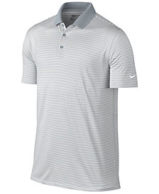 Nike Men's Victory Mini Stripe Dri-FIT Stretch Polo Shirt
