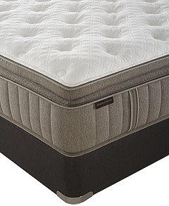 Signature Garrick 14 5 Luxury Cushion Firm Euro Pillowtop Mattress Set Queen