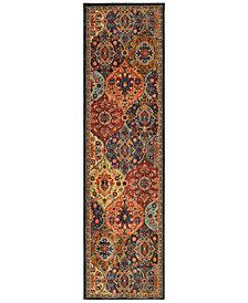"""Karastan Spice Market Levant 2'4"""" x 7'10"""" Runner Rug"""