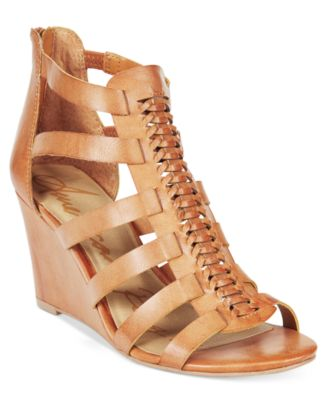 Image of American Rag Amelia Woven Wedge Sandals, Only at Macy's