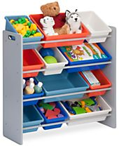 Honey Can Do Kids Storage Organizer, 12 Bins