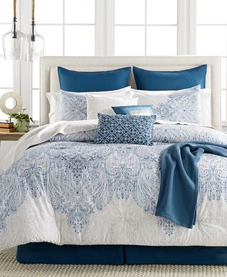 closeout! reverence 14-pc. comforter set, created for macy's - bed
