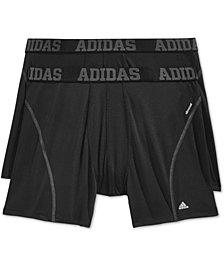 adidas Men's 2 Pack ClimaCool Performance Boxer Briefs