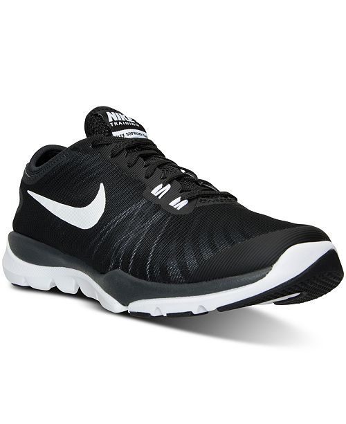 faae3ee8d5b ... Nike Women s Flex Supreme TR 4 Wide Training Sneakers from Finish Line  ...