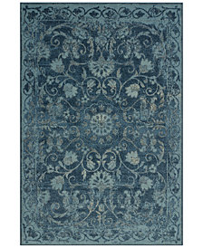 CLOSEOUT! D Style Menagerie MEN29 Denim Area Rugs