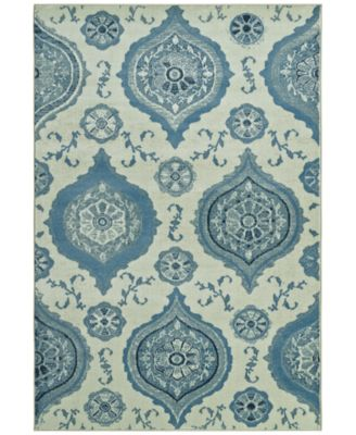 "CLOSEOUT! Menagerie MEN1548 Ivory 8'2"" x 10' Area Rug"