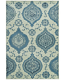 "CLOSEOUT! D Style Menagerie MEN1548 Ivory 3'3"" x 5'1"" Area Rug"