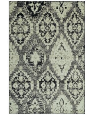 "CLOSEOUT! Menagerie MEN8444 Stone 3'3"" x 5'1"" Area Rug"