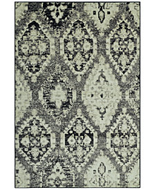 "CLOSEOUT! D Style Menagerie MEN8444 Stone 3'3"" x 5'1"" Area Rug"