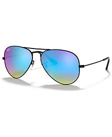 Ray-Ban ORIGINAL AVIATOR GRADIENT MIRRORED Sunglasses, RB3025