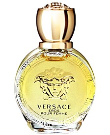 Receive a Free Deluxe Mini with any large spray purchase from the Versace Eros Pour Femme Eau de Parfum fragrance collection