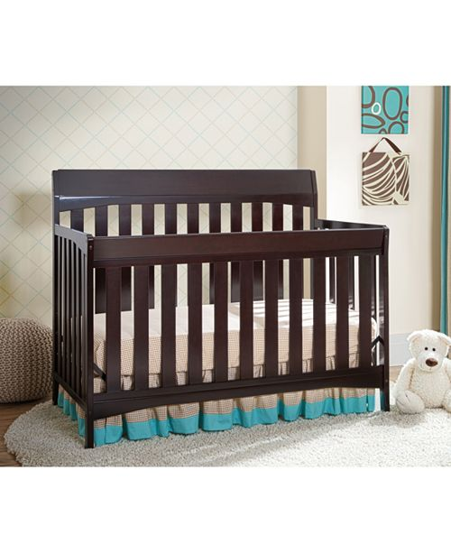 Furniture Kyndal 4 in 1 Convertible Crib Collection, Quick Ship