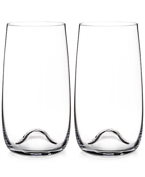 Waterford Elegance Highball Glass Pair