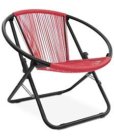 Garwin Outdoor Woven Chair, Quick Ship