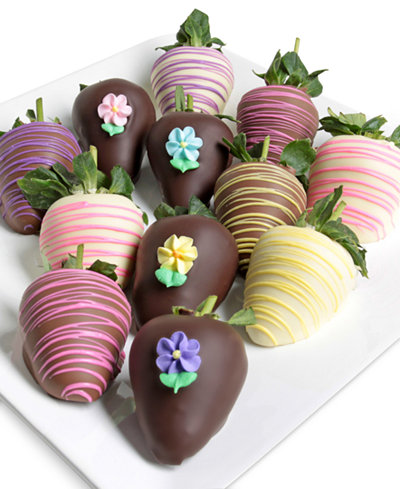 Chocolate Covered Company 12-pc. Spring Chocolate Strawberries