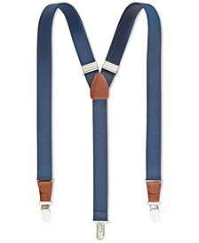 Men's Solid Suspenders, Created for Macy's""