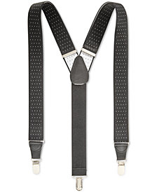 Club Room Men's Pin-Dot Suspenders, Created for Macy's
