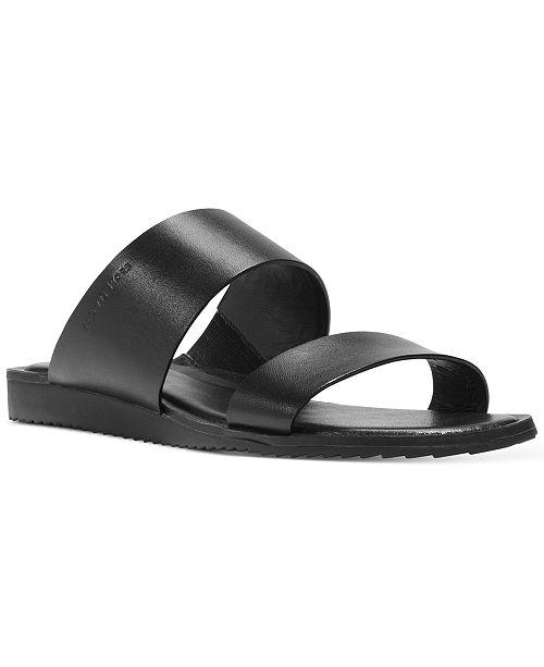 33e12ea9a06ae9 Michael Kors Millie Slide Double-Band Flat Sandals   Reviews ...