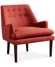 Abbott Fabric Chair, Quick Ship