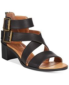 Harvarti Block Heeled Sandals