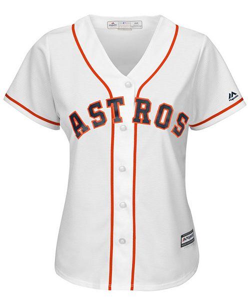 hot sale online 7f3ee 8889b Women's Carlos Correa Houston Astros Cool Base Player Replica Jersey