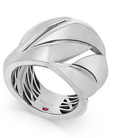 The Fifth Season by Roberto Coin Sterling Silver Statement Ring 7771140SW650