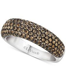 Le Vian Chocolatier® Diamond Band (1-1/5 ct. t.w.) in 14k White Gold