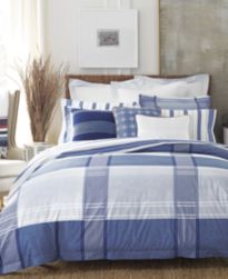 CLOSEOUT! Tommy Hilfiger Lambert's Cove Bedding Collection