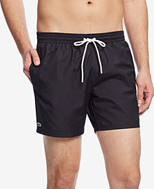 "Lacoste Men's Basic 5"" Swim Trunks"